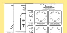 Reading Comprehension Six Key Words Activity Sheets Polish Translation