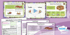 PlanIt - D&T LKS2 - Edible Garden Lesson 6: Cooking With Tomatoes Lesson Pack