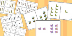 Minibeast Themed Counting Number Bonds to 8 Pack