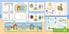 Beach Hut Role Play Pack