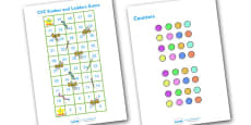 Snakes and Ladders CVC (1-50)