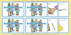 Investigation Area Challenge Cards