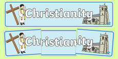 Christian Church Display Banner