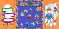 Year 5 Space Themed Reward Display Pack