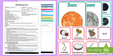 EYFS A Musical in Space Adult Input Plan and Resource Pack to Support Teaching on Whatever Next