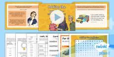PlanIt Y4 Term 1A W2: in- Prefixes Spelling Pack
