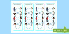 Ourselves Sticker Reward Bookmarks (15mm)