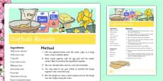 Daffodil Biscuits Recipe