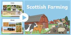 Scottish Farming Photo PowerPoint