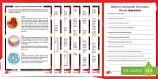 Belfast Continental Market  Differentiated Reading Comprehension Activity