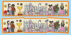 Australia -  History Display Banner