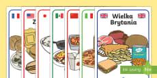 Plakaty Kuchnie świata