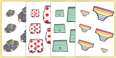 Size Ordering to Support Teaching on Aliens Love Underpants
