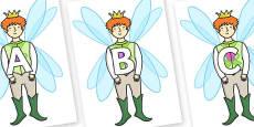 A-Z Alphabet on Fairy Prince