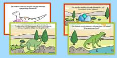 Challenge Cards Dinosaur Park Polish