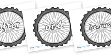 Connectives on Bike Wheels