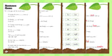 Australia - Sentence Activity Sheet to Support Teaching on The Very Hungry Caterpillar