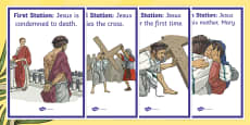Stations of the Cross Display Posters
