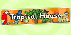 Tropical House Role Play Banner