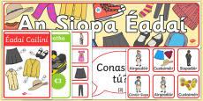 Éadaí Display Pack Irish Gaeilge Gaeilge