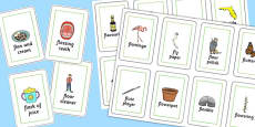 Three Syllable FL Playing Cards