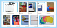 School Objects Photo Pack Urdu