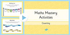 Year 1 Maths Mastery  Counting PowerPoint