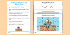 Humpty Dumpty Busy Bag Resource Pack for Parents