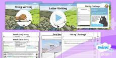 PlanIt Y4 Traditional Tales: The Three Billy Goats Gruff WriteIt Pack