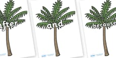Connectives on Palm Trees