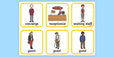 Hotel Role Play Badges