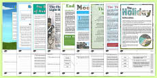Year 6 Reading Assessments Pack