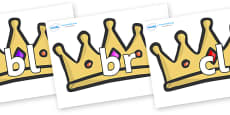 Initial Letter Blends on Crowns