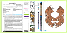 EYFS Footprints in the Snow Adult Input Plan and Resource Pack to Support Teaching on The Gruffalo's Child
