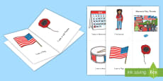 * NEW * Memorial Day Parade Emergent Reader