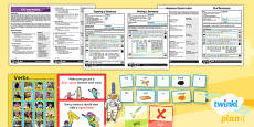 PlanIt - EAL Intervention - Basic Skills: Sentence Construction Pack