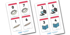 Number Bonds to 7 Matching Cards (Everyday Items)
