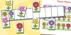 Flower Pattern Activity Board