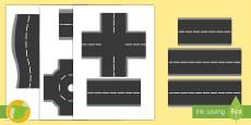 * NEW * Imágenes de exposición: Piezas de carretera