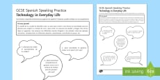 Free Time Speaking Practice Activity Sheet