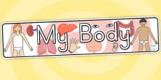 Australia - My Body Display Banner