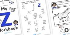 My 'Z' Workbook