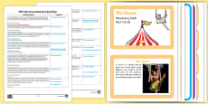 EYFS The Circus Discovery Sack Plan and Resource Pack