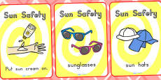Sun Safety Display Posters - Australia