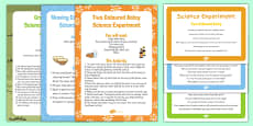 EYFS Spring Themed Science Experiments Resource Pack