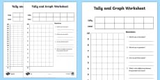 Tally and Graph Activity Sheet Template