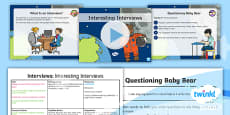 PlanIt Y1 Space: To Support Teaching on Whatever Next! Lesson Pack Interviews (1)