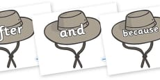 Connectives on Cowboy Hats