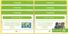 * NEW * Year 5 Australian HASS Geography Content Descriptor Statements Display Pack