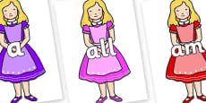 Foundation Stage 2 Keywords on Alice